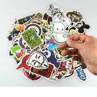 100 x Sticker Bomb Graffiti Vinyl For Car Skate Skateboard Laptop Luggage Decal