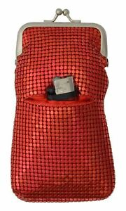 Mesh Luxury Fashion Sequin Regular 100s 120s Cigarette Case with Lighter Pocket