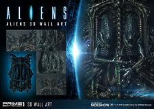 Prime 1 Studio Aliens 3D Wall Art Statue Alien 1986 Giger Decor