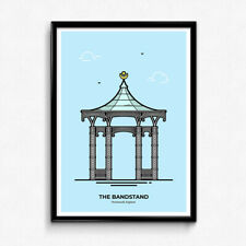 Southsea Bandstand Portsmouth Poster, Wall Art - Christine Wilde