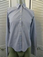 Womens BROOKS BROTHERS 346 Long Sleeve Button Shirt French Cuff Non-Iron Size 6