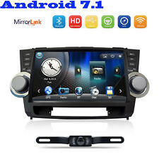 "10.1"" Car Stereo Radio Bluetooth no-DVD Player GPS Naviga Fr Toyota Highlander"