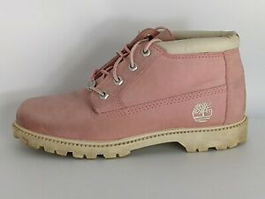 Timberland Women's Waterproof Nellie Chukka Boots 23308 Pink Sz 8
