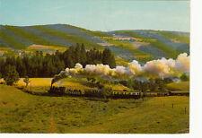 TOURNON-LAMASTRE chemin de fer du vivarais train vapeur la galoche timbrée