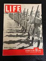 Life Magazine December 30 1940 Roosevelt, WWII Britains Desert Fighters