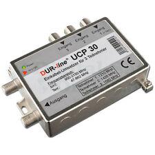 DUR-Line Einkabelumsetzer UCP 20 unicable SCR Multischalter 2 Teilnehmer Kaskade