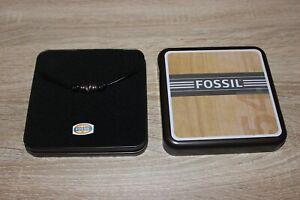 Fossil Halskette Herren mit Lederband
