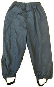 JoJo Maman Bebe 5-6 years waterproof trousers kids packaway pull-on blue outdoor