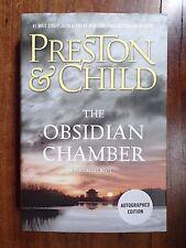 Douglas Preston & Lincoln Child ~ The Obsidian Chamber ~ Signed ~ 1st/1st ~ 2016