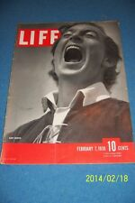 1938 LIFE Magazine GARY COOPER Hollywood NO LABEL NewsStand FREE SHIPPING