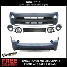 RANGE ROVER SPORT AUTOBIOGRAPHY STYLE FRONT+ REAR BUMPER  CONVERSION 2010 + 2013