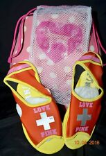 RARE Victorias Secret Pink Water Shoes W/Bag LOVE PINK HTF NWT S