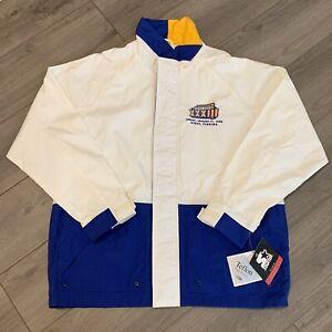 Super Bowl 33 Jacket Mens Large Vintage 90s NFL Football Broncos Starter NWT
