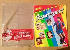 PANINI ANNI 1980 SUPERSPORT & EURO FOOTBALL STICKER ALBUM. VUOTO.