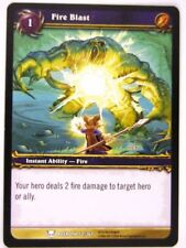 WoW: World of Warcraft Cards: FIRE BLAST 52/361 - played