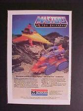 OLD MASTERS UNIVERSE SPACE SHIP PLASTIC MODEL KIT TOY ART PRINT AD~ VINTAGE 1983