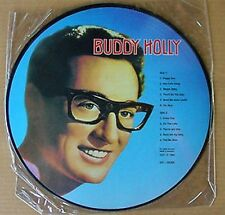 """BUDDY HOLLY - 12"""" PICTURE DISC  - DENMARK LP - 1982"""