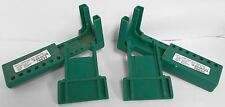 (2) North B-Safe BS02G Ball Valve Lockout Device Green Valve Handles 1½ - 2½""