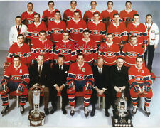 1968-69 MONTREAL CANADIENS STANLEY CUP CHAMPIONS TEAM 8X10 PHOTO PICTURE