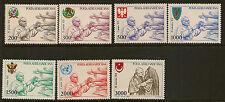 VATICANO:1980 air-pope PAUL'S viaggi ho Set SG 740-6 Unmounted MINT