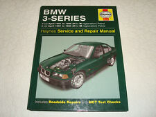 BMW 3 SERIES 4 & 6 CYLINDER PETROL APRIL 1991 to 1996 HAYNES SERVICE & REPAIR
