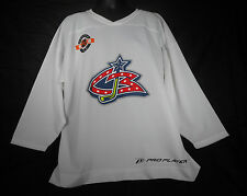 Columbus Blue Jackets White Jersey XL