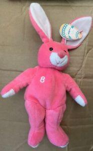 1 Salvinos Bamm BUNNIES - JD Drew April 1999 New - Easter Bunny Pink Baseball #8