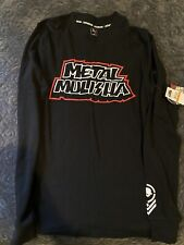 Metal Mulisha Men's Long Sleeve Henley Shirt Size Small