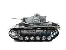100% Metal Mato 1/16 Panzer III KIT RC Tank BB Shooting Pellet Metal Clolor 1223