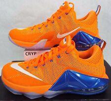 1c46fcc8c38 New Mens 9.5 NIKE Lebron XII Low Bright Citrus Orange Shoes  175 724557-838