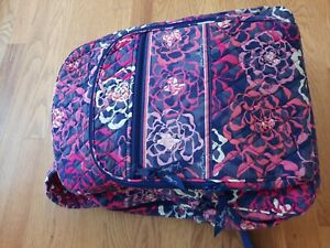 Vera Bradley Campus Backpack In Katalina Pink - Excellent Cond.