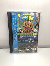 ULTRAVERSE PRIME / MICROCOSM Sega CD Double Deal Video Game COMPLETE VERY CLEAN