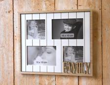 Bilderrahmen Holz 4 er Family   NEU