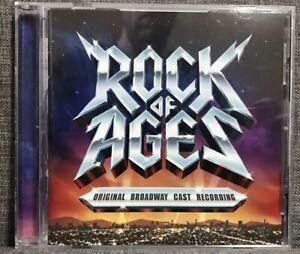 ROCK OF AGES original Broadway Cast Recording CD *Disc Mint* FAST FREE POST