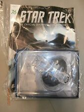 STAR TREK STARSHIPS FIGURE COLLECTION #76 Neelixs Ship EAGLEMOSS