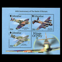 """Gibraltar 2000 - Wings of Prey II """"Fighter Jets"""" Aviation Military - Sc 853c MNH"""