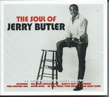 Jerry Butler - The Soul Of [The Best Of / Greatest Hits] 2CD NEW/SEALED