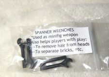 4 LEGO® Bricks & FREE set of 4 black SPANNER WRENCHES - CUSTOM made ACCESSORY