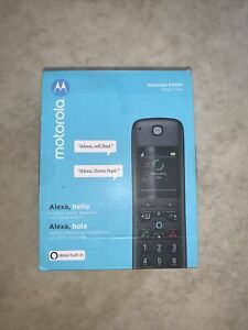 Motorola AXH01 Smart Wireless Expandable Home Telephone w/ Built-in Alexa