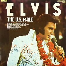 "12"" LP - Elvis - The U.S. Male - B584 - washed & cleaned"