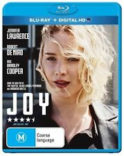 *BRAND NEW & SEALED*  Joy (Blu Ray Movie 2016) Jennifer Lawrence, Bradley Cooper
