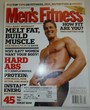 Men's Fitness Magazine Full Body Workout Hard Abs April 2004 030615R