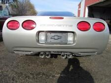 97-04 C5 Corvette Coupe Rear Bumper Cover Pewter Lights Wiring Absorber 10433081
