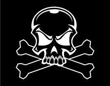 Skull Car Vinyl Decal Window vinyl Sticker