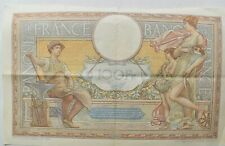 CrazieM World Bank Note - 1939 France 100 Francs - Collection Lot m254