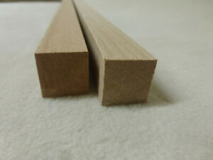 (11.09)  1Stk in 100cm Quadratleiste Buche 20x20mm Vierkant Holzleisten