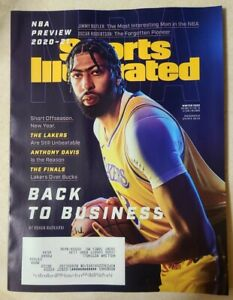 Sports Illustrated Winter 2020 Anthony Davis L.A. Lakers NBA Preview 2020-21