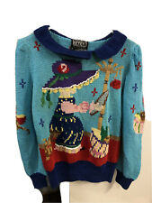 Berek Hand Knit Sweater Nwt - Vintage 1988 - Size S