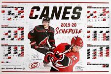Carolina Hurricanes Canes 2019-2020 NHL Schedule Calendar New