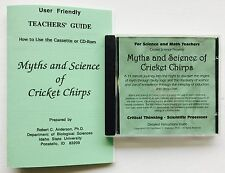 Cricket Science Cd: Myths & Science of Cricket Chirps-Experiments With Guidebook
